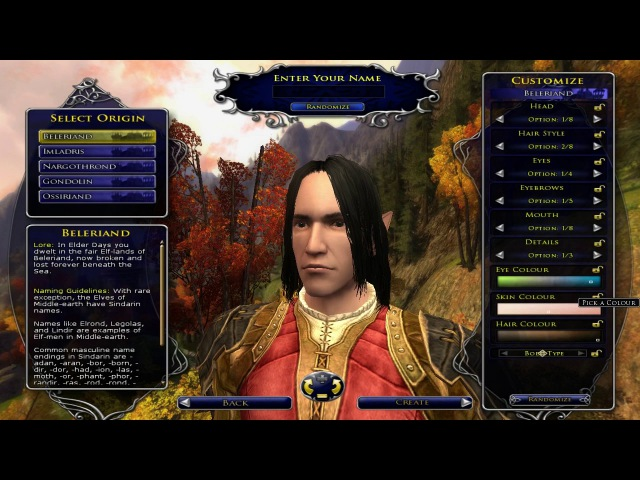MAKING A HIGH ELF - LOTRO Update 21 Mordor Expansion Beta