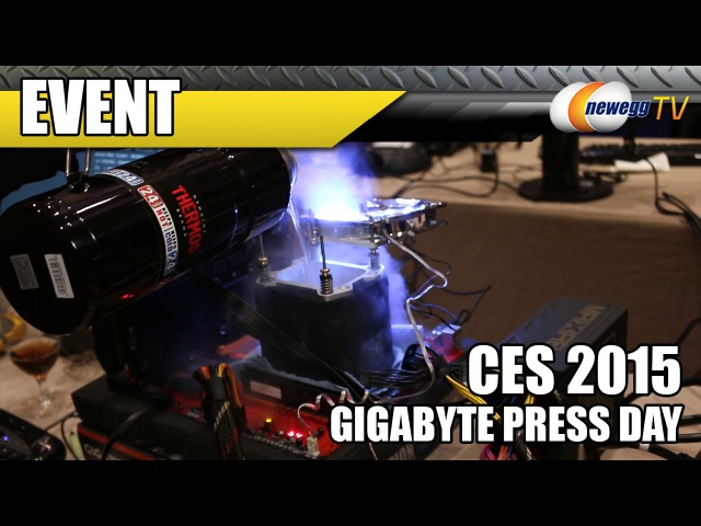 World Records Topped using Gigabyte X99 SOC Champion Motherboard - CES 2015