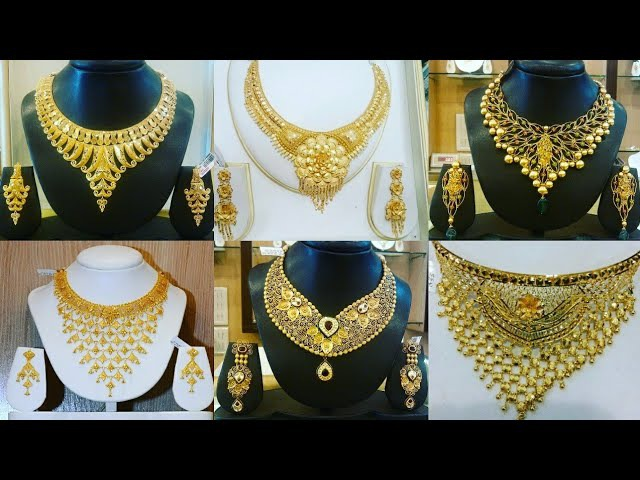 Senco Gold Necklace Collection | Senco Gold Necklace Design | Top 50 Necklaces