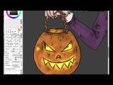 S P E E D P A I N T  Halloween Fran Bow