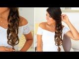 How To Feather Loop Braid  Hair Tutorial