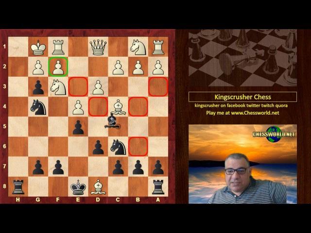 J Smith vs George H Derrickson: Philadelphia - (1860) · Italian Game: Two Knights Defense