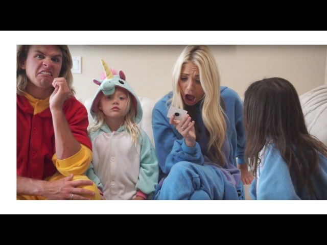 Everleigh Soutas and Ava Foley do the Bean Bozooled Challenge with Savannah Soutas and Cole LaBrant