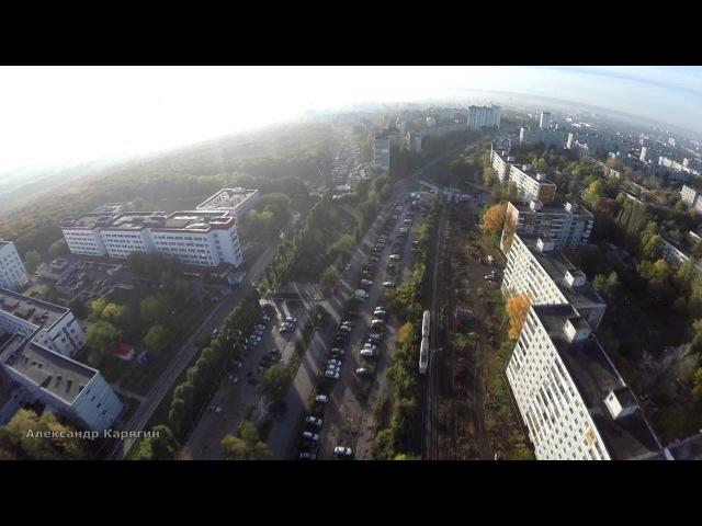 Полёт над улицей Ташкентской: от Московского ш. до ул. Стара-Загора Samara