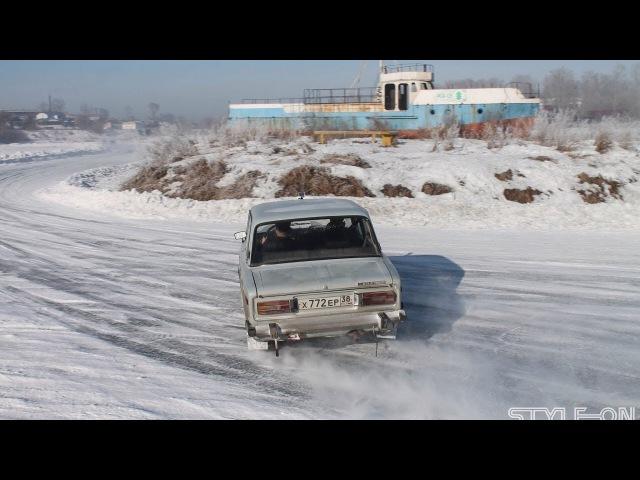 Гонки на льду 2017 в г.Усолье-Сибирское, моё 1-ое соревнование