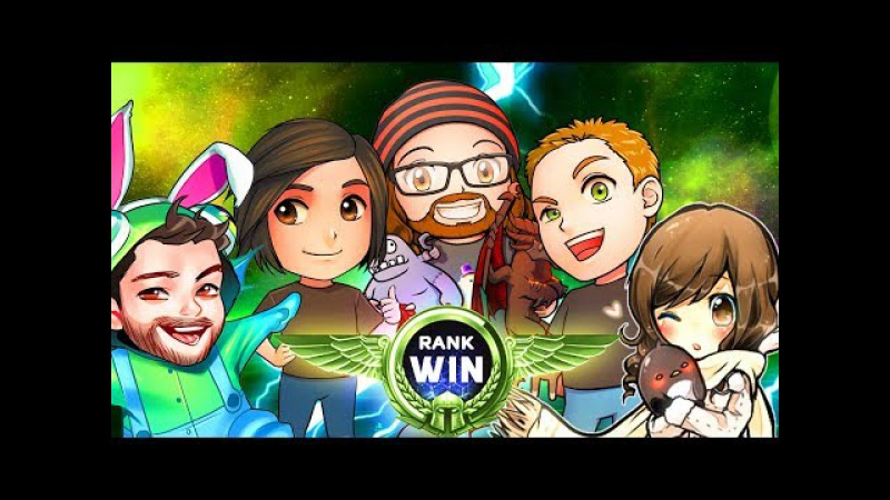 Rank Win | 5-Man Team League | MFPallytime Heroes of the Storm