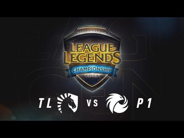 TL vs. P1 - Week 7 Game 2 | NA LCS Summer Split | Phoenix1 vs. Team Liquid (2017)