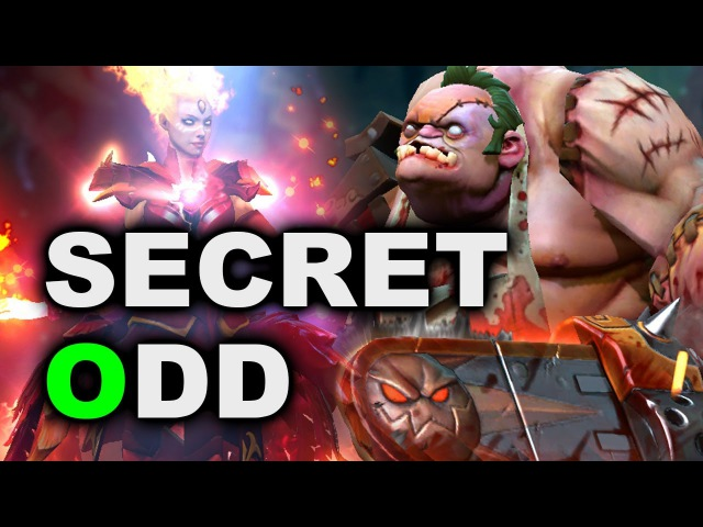 SECRET vs ODD - SemiFinal Fight! - DreamLeague 7 DOTA 2