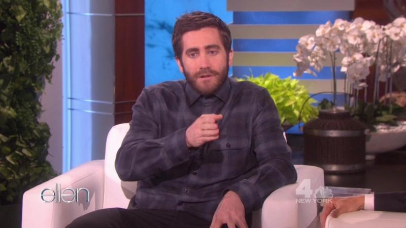 Джейк Джилленхол на шоу «The Ellen DeGeneres Show» (01.11.2016)