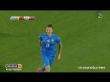 Литва - Словакия 1:2. Обзор матча. Квалификация ЧМ-2018.