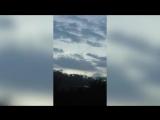 НЛО в небе над Землей сняли на видео