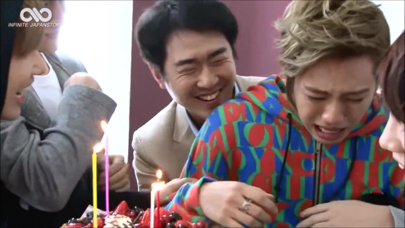 Dongwoo Birthday Prank