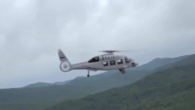 Опубликовано видео первого полета вертолета Ка-62