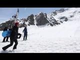 Как правильно носить сноуборд)