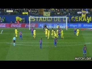 Вильярреал 1-1 Барселона. Потрясающий гол Лео Месси.