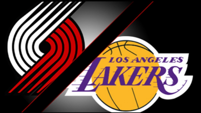 West Finals: Portland Trail Blazers vs LA Lakers Game 7 (06.04.2000)