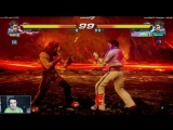Стрим по Tekken 7 от 02.06.2017 (1/2)