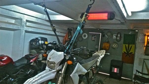 хорошо зафиксированный мотоцикл в предварительных ласках не нуждается