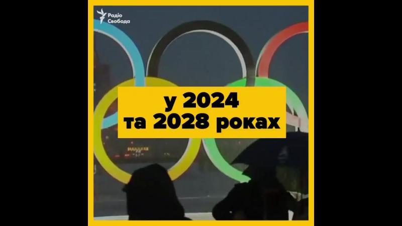 Олімпіади 2024 і 2028