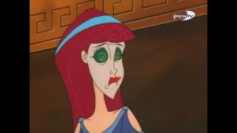 Геркулес и чудо поцелуя 1 сезон 5 серия мультфильм для детей