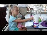 ВЛОГ Мелисса с куклой Baby Alive идут в Макдональдс ИГРУШКА Nerf Игры на детской площад...