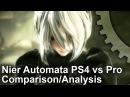 Nier Automata PS4/PS4 Pro Final Code Comparison Frame-Rate Test