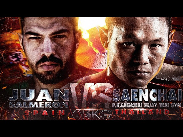 Saenchai vs Juan Salmeron | THAI FIGHT Barcelona | 720p