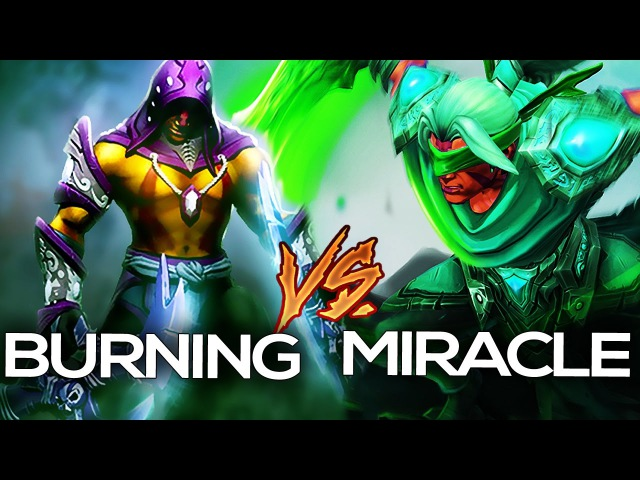 Miracle vs. BurNIng | THE LEGEND OF AM | EPIC GREEN Anti-Mage Mod Dota 2