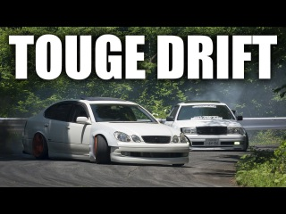 Japanese Touge Drift Compilation (Illegal Street Drifting)