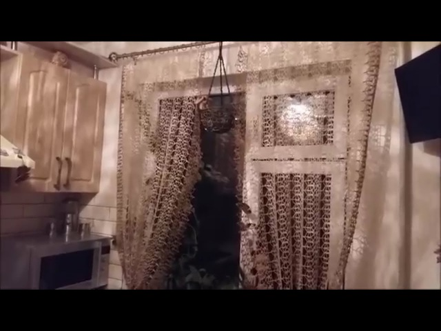 МК узора занавесок для кухни LariSSa ВязЪ