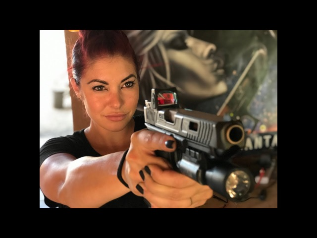 Michelle Viscusi Test Drives the G41 Combat Master 🔥👊🏻