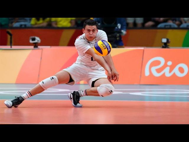 Jenia Grebennikov Incredible Volleyball Libero