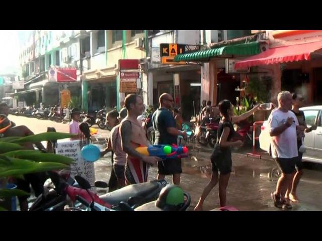 Новый год в Патоңге, Пхукете в Тайланде - Songkran