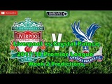 Liverpool vs Crystal Palace Predictions  201718 Premier League Week 2, FIFA17