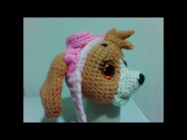 Скай Щенячий патруль, ч.1. Sky Puppy Patrol, р.1. Amigurumi. Crochet. Амигуруми.