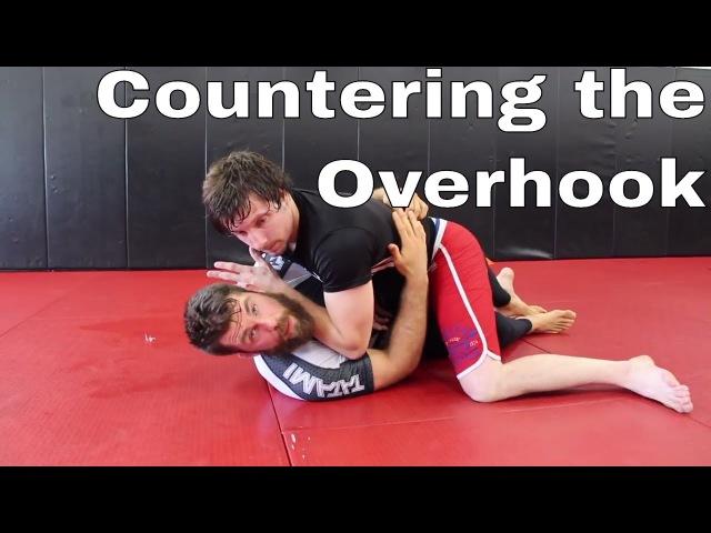 BJJ Half Guard Sweep Against Wrestlers Overhook Counter