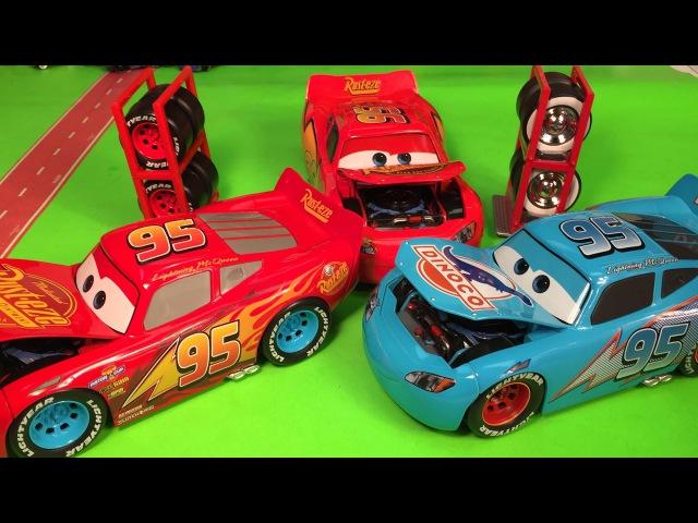 Макквин тачки 3 Макквин Диноко Disney pixar cars