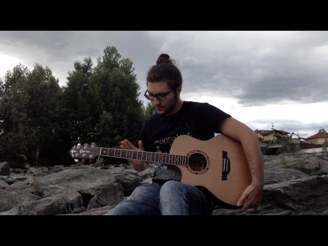 Andy McKee - Drifting (By The River) - Acoustic Guitar Cover
