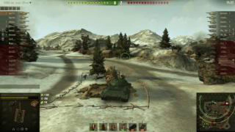 эпичный бой на WZ111-14