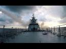 Стрельбы противокорабельными ракетами по морским мишеням ВМФ России