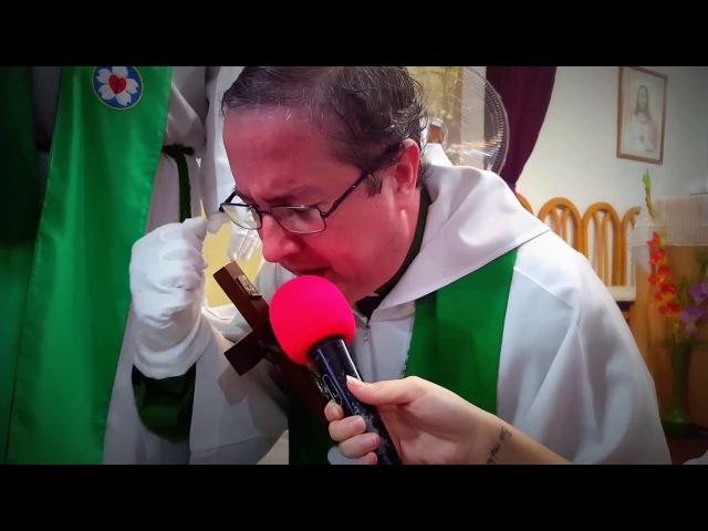 Profetizando Obispo Manuel Adolfo Acuña.