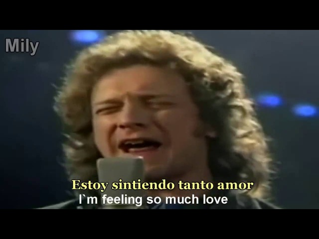 Foreigner I Want To Know What Love Is Subtitulado Español Ingles