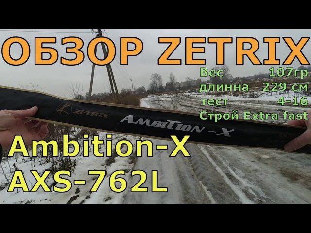 Обзор Zetrix Ambition X AXS 762L
