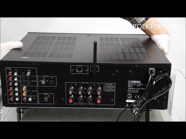Обзор сетевого стереоресивера Yamaha R-N602