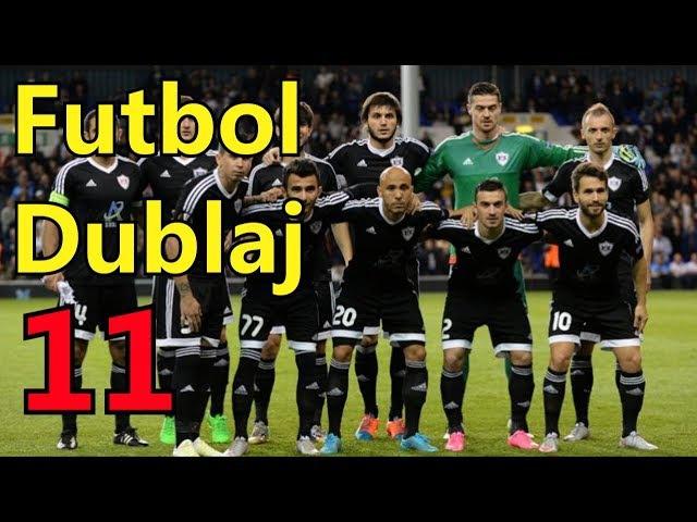 Futbol dublaj 11 Qarabag FK vs Kopenhagen