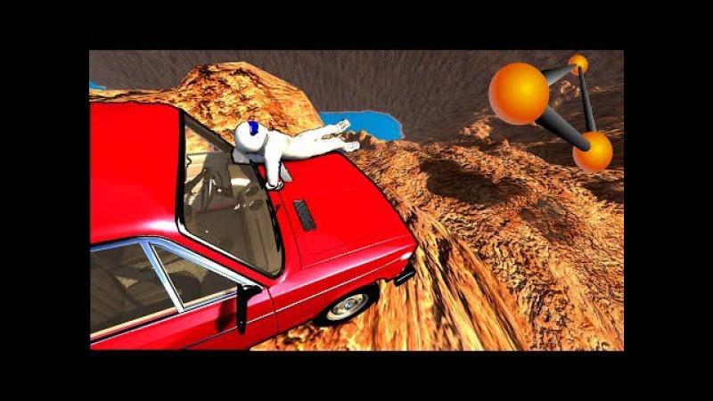 ПОЛЕТ В БЕЗДНУ! ПОСЛЕДНИЙ МИГ ЖИЗНИ | BeamNG.drive