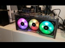 Corsairs new ML120 Pro RGB Fans Magnetic levitation