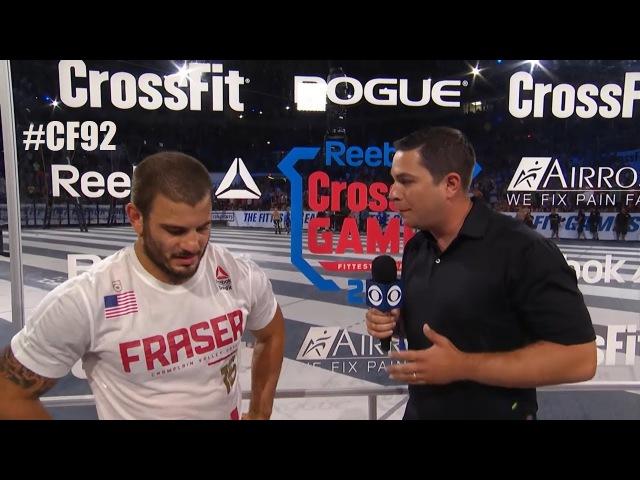 Мэт Фрейзер: не спрашивайте меня про Рича. Интервью чемпиона после финального эв...