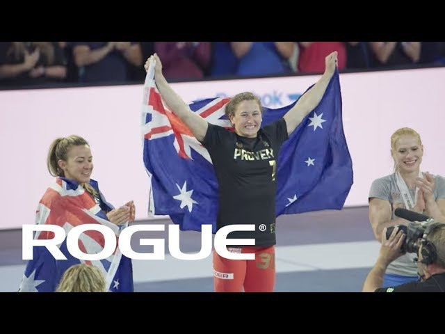 Tia-Clair Toomey - 2017 CrossFit Games Champ / 8K
