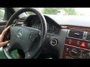 Идеальный Mercedes w210 2.2CDI, RESTYLE. Взгляд изнутри.